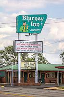 The Blarney Inn on Route 66 in Shamrock Texas.