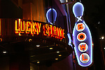 Lucky Strike Bowling Alley and nightclub, Hollywood, Los Angeles, CA