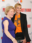 Barbara Marshall and Julia Roberts attend the Garry Marshall Tribute Performance of 'Pretty Woman:The Musical' at the Nederlander Theatre on August 1, 2018 in New York City.