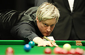 1st February 2019, Berlin, Germany; Snooker Berlin German Masters in Tempodrom;  Neil Robertson  plays a red