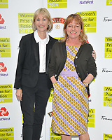 Kate Mosse and Janet Ellis at the Women's Prize for Fiction Awards 2019, Bedford Square Gardens, Bedford Square, London, England, UK, on Wednesday 05th June 2019.<br /> CAP/CAN<br /> ©CAN/Capital Pictures