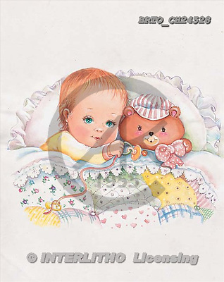 Alfredo, BABIES, paintings, BRTOCH24528,#B# bébé, illustrations, pinturas ,everyday