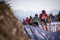 Wilco Kelderman (NED/Sunweb) & Green Jersey Nairo Quintana (COL/Movistar) in the race finale<br /> <br /> Stage 15: Tineo to Santuario del Acebo (154km)<br /> La Vuelta 2019<br /> <br /> ©kramon