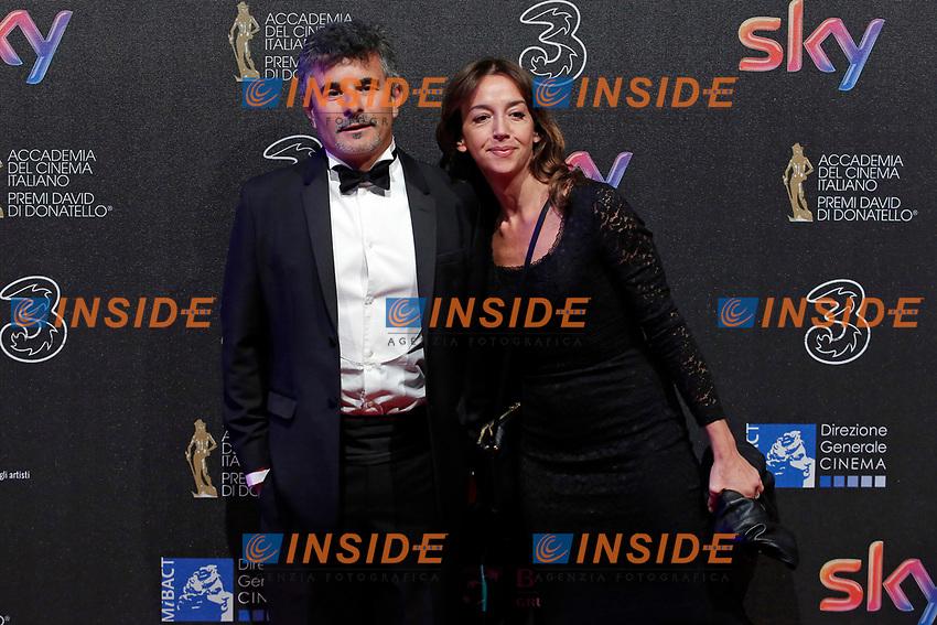 Paolo Genovese<br /> Roma 27-03-2017. Premio David di Donatello 2017.<br /> Rome March 27th 2017. David di Donatello ceremony 2017. <br /> Foto Samantha Zucchi Insidefoto