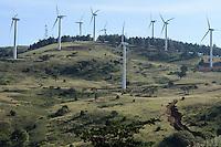 KENYA, Nairobi, Ngong Hills, 25,5 MW Wind Power Station with Vestas and Gamesa wind turbines, owned and operated by KENGEN Kenya Electricity Generating Company / KENIA, Ngong Hills Windpark, Betreiber KenGen Kenya Electricity Generating Company mit Vestas und Gamesa Windkraftanlagen