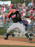 June 5, 2009:  Pitcher Josh Walter of the Great Lakes Loons delivers a pitch during a game at Fifth Third Ballpark in Comstock Park, FL.  The Loons are the Low-A affiliate of the Los Angeles Dodgers.  Photo By Emily Jones/Four Seam Images