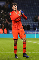 Manchester City's goalkeeper Arijanet Muric <br /> <br /> Photographer Andrew Kearns/CameraSport<br /> <br /> English League Cup - Carabao Cup Quarter Final - Leicester City v Manchester City - Tuesday 18th December 2018 - King Power Stadium - Leicester<br />  <br /> World Copyright &copy; 2018 CameraSport. All rights reserved. 43 Linden Ave. Countesthorpe. Leicester. England. LE8 5PG - Tel: +44 (0) 116 277 4147 - admin@camerasport.com - www.camerasport.com