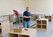 Refurbishing the Science laborartory, state secondary school.