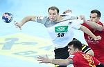 13.01.2018., Croatia, Arena Zagreb, Zagreb - European Handball Championship, Group C, Round 1, Germany - Montenegro. RUX Paul <br /> <br /> <br /> Foto &copy; nordphoto / Sanjin Strukic/PIXSELL