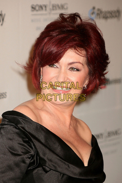 SHARON OSBOURNE.Clive Davis 2007 Pre-Grammy Awards Party at the Beverly Hilton Hotel, Beverly Hills, USA..February 10th, 2007.headshot portrait .CAP/ADM/BP.©Byron Purvis/AdMedia/Capital Pictures