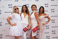Liz Roman, Courtney Sixx, Laney Ziv and Tara Klein attend the 10th Annual White Light White Night Charity Fundraiser Benefiting Walk With Sally at TheRooftopof the Plaza at Continental Park in El Segundo, CA on Saturday, July 23, 2016 (Photo by Inae Bloom/Guest of a Guest)