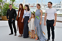 Alban Lenoir, Amelie Daure, Vanessa Filho, Ayline Aksoy-Etaix, Marion Cotillard &amp; Stephane Rideau at the photocall for &quot;Angel Face&quot; at the 71st Festival de Cannes, Cannes, France 12 May 2018<br /> Picture: Paul Smith/Featureflash/SilverHub 0208 004 5359 sales@silverhubmedia.com