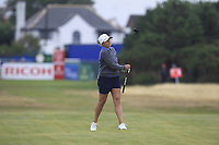 Sarah Kemp (AUS) on the 17th fairway during Round 2 of the Ricoh Women's British Open at Royal Lytham &amp; St. Annes on Friday 3rd August 2018.<br /> Picture:  Thos Caffrey / Golffile<br /> <br /> All photo usage must carry mandatory copyright credit (&copy; Golffile | Thos Caffrey)