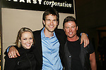 All My Children's Brianne Moncrief, Adam Mayfield and Jacob Young (Chandlers) at the 36h Annual Daytime Entertainment Emmy® Awards Nomination Party - Sponsored By: Good Housekeeping and The National Academy of Television Arts & Sciences (NATAS) on Thursday, May 14, 2009 at Hearst Tower, New York City, New York. (Photo by Sue Coflin/Max Photos)..