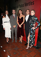 LOS ANGELES, CA - NOVEMBER 17: Sarah Schroeder-Matzkin, Justin Kirk, Jennifer Garner, Cody Fern, and Maika Monroe, at the Tribes Of Palos Verdes Premiere at The Ace Hotel Theater in Los Angeles, California on November 17, 2107. Credit: Faye Sadou/MediaPunch /NortePhoto.com