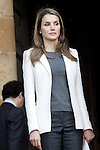 Princess Letizia of Spain attend the tribute to the King of Navarre .June 06,2013. (ALTERPHOTOS/Acero)