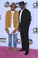 21 May 2017 - Las Vegas, Nevada -  Christopher Jordan Wallace, Sean Combs. 2017 Billboard Music Awards Press Room at T-Mobile Arena. Photo Credit: MJT/AdMedia