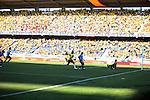 El  selecionado  de Colombia  derroto 4x0 al Se lecioando de Uruguay  en las eliminatorias rumbo al mundial Brasil 2014