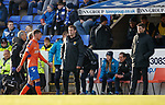 23.12.2018 St Johnstone v Rangers: Borna Barisic limps off