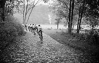 the 'new Schaal Sels has 18 kilometres of gravel roads &amp; 33 kilometres of cobbles<br /> <br /> 90th Schaal Sels 2015