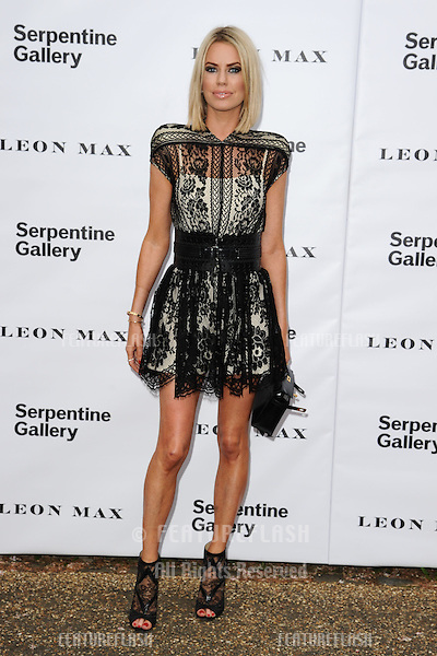Caroline Stanbury arriving for the Serpentine Gallery Summer Party 2012, Hyde Park, London. 26/06/2012 Picture by: Steve Vas / Featureflash