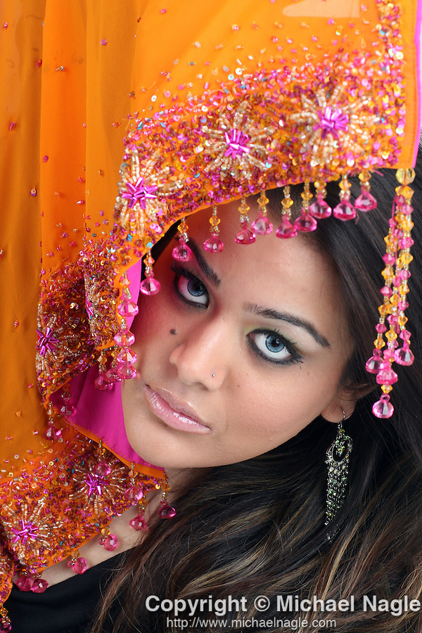 BROOKYLN - AUGUST 18, 2007:  Trishala Dutt, daughter of Indian Bollywood film actor Sanjay Dutt, poses for a portrait on August 18th, 2007 in New York City.  (PHOTOGRAPH BY MICHAEL NAGLE)