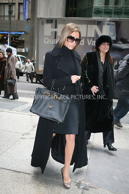 WWW.ACEPIXS.COM ** ** ** ....February 13, 2007, New York City. ....Victoria Beckham Shopping Midtown on Madison Avenue.....Please byline: Philip Vaughan -- ACEPIXS.COM.. *** ***  ..Ace Pictures, Inc:  ..Philip Vaughan (212) 243-8787 or (646) 769 0430..e-mail: info@acepixs.com..web: http://www.acepixs.com