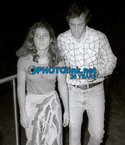 Caroline Kennedy Tom Carney 1977<br /> Photo by Adam Scull/PHOTOlink.net