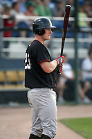 August 16 2008:  Catcher Blake Murphy (35) of the Quad Cities River Bandits, Class-A affiliate of the St. Louis Cardinals, during a game at Pohlman Field in Beloit, WI.  Photo by:  Mike Janes/Four Seam Images