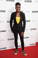 Nicola Adams<br /> arrives for the Glamour Women of the Year Awards 2016, Berkley Square, London.<br /> <br /> <br /> &copy;Ash Knotek  D3130  07/06/2016