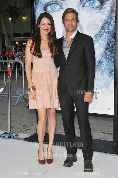 "Gabriel Macht & wife Jacinda Barrett at the Los Angeles premiere of his new movie ""Whiteout"" at Mann Village Theatre, Westwood..September 9, 2009.September 9, 2009  Los Angeles, CA.Picture: Paul Smith / Featureflash"