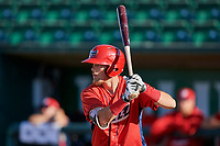 Brandon Marsh (36) of the Orem Owlz bats during the game against the Ogden Raptors at Lindquist Field on September 10, 2017 in Ogden, Utah. Ogden defeated Orem 9-4. (Stephen Smith/Four Seam Images)