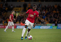 Wolverhampton Wanderers v Manchester United, ManU Premier League Paul Pogba of Manchester United collects the ball during the Premier League match at Molineux, Wolverhampton PUBLICATIONxNOTxINxUKxCHN Copyright: xRussellxHartx FIL-13536-0070  <br /> Foto Imago/Insidefoto <br /> ITALY ONLY<br /> Foto Imago/Insidefoto <br /> ITALY ONLY