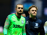 Preston North End's Michael Crowe leaves the field<br /> <br /> Photographer Alex Dodd/CameraSport<br /> <br /> The Emirates FA Cup Third Round - Preston North End v Doncaster Rovers - Sunday 6th January 2019 - Deepdale Stadium - Preston<br />  <br /> World Copyright &copy; 2019 CameraSport. All rights reserved. 43 Linden Ave. Countesthorpe. Leicester. England. LE8 5PG - Tel: +44 (0) 116 277 4147 - admin@camerasport.com - www.camerasport.com