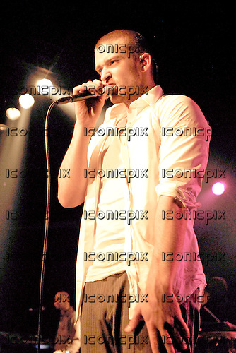 Justin Timberlake - performing live at a showcase concert to launch his new album 'Sexy Back' at the Hammersmith Palais in London UK - 13 July 2006.  Photo credit: George Chin/IconicPix