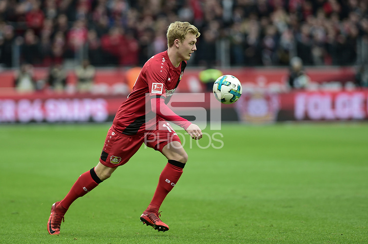 Football : Germany -1. Bundesliga  2017/18 <br /> Bayer Leverkusen 04 vs Mainz <br /> 28/01/2018 - Julian Brandt (Bayer 04 Leverkusen) *** Local Caption *** &copy; pixathlon<br /> Contact: +49-40-22 63 02 60 , info@pixathlon.de