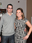 Mairead Kierans celebrating her 30th birthday in Brú with boyfriend Andy Cole. Photo:Colin Bell/pressphotos.ie