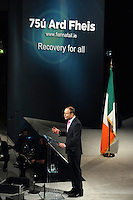 The Fianna Fail Ard Fheis in the INEC, Killarney.<br /> Picture by Don MacMonagle