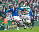 :: RANGERS' EL HADJI DIOUF IS CHALLENGED BY CELTIC'S GEORGIOS SAMARAS ::