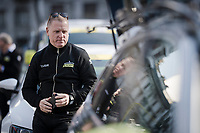 Team Mitchelton-Scott team manager Shayne Bannan before the start of the 110th Milano-Sanremo 2019 (ITA)<br /> One day race from Milano to Sanremo (291km)<br /> <br /> ©kramon