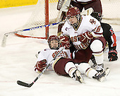 Jessica Martino (BC - 26) - The Boston College Eagles defeated the visiting Northeastern University Huskies 2-1 on Sunday, January 30, 2011, at Conte Forum in Chestnut Hill, Massachusetts.