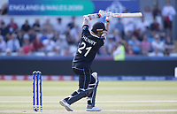 Matt Henry (New Zealand) drives through the covers during England vs New Zealand, ICC World Cup Cricket at The Riverside Ground on 3rd July 2019