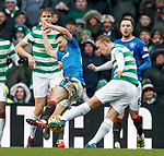 Leigh Griffiths blocked by Jason Holt