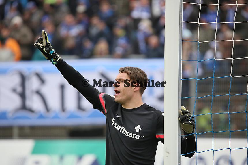 Christian Mathenia (SV98)  - SV Darmstadt 98 vs. SpVgg. Greuther Fuerth, Stadion am Boellenfalltor