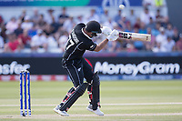 Colin de Grandhomme (New Zealand) evades a short delivery during England vs New Zealand, ICC World Cup Cricket at The Riverside Ground on 3rd July 2019
