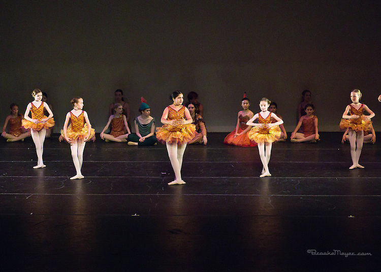 "First Dress Rehearsal for ""Flight To Neverland"", the 2013 Annual Recital by the Cary Ballet Conservatory."