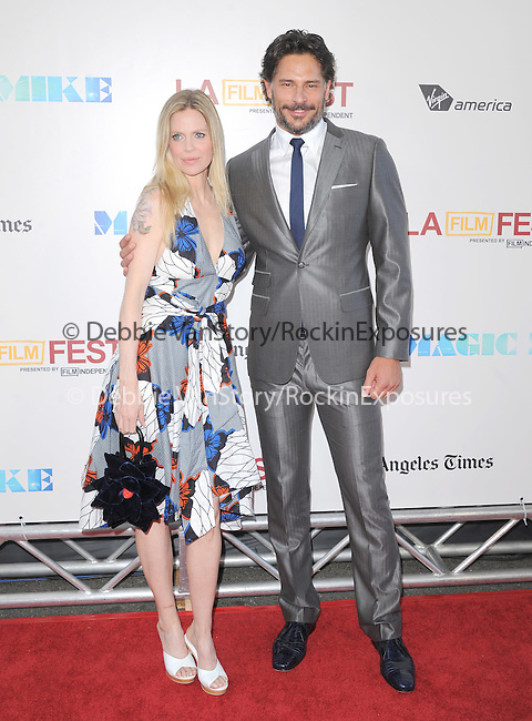 Kristin Bauer and Joe Manganiello at The Warner Bros. Pictures World Premiere and Closing night of The Los Angeles Film Festival  held at   The Regal Cinemas L.A. LIVE Stadium 14 in Los Angeles, California on June 24,2012                                                                               © 2012 Hollywood Press Agency