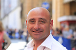 Former Champion Paolo Bettini before Stage 1 of the 2019 Giro d'Italia, an individual time trial running 8km from Bologna to the Sanctuary of San Luca, Bologna, Italy. 11th May 2019.<br /> Picture: Eoin Clarke | Cyclefile<br /> <br /> All photos usage must carry mandatory copyright credit (© Cyclefile | Eoin Clarke)