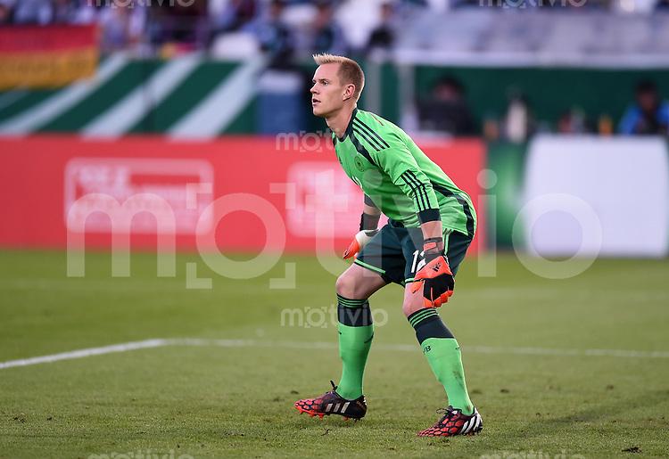 Fussball International Euro 2015 Quali Play-off-Rueckspiel U 21 in Essen 14.10.2014 Deutschland - Ukraine     Torwart Marc-Andre ter Stegen (Deutschland)
