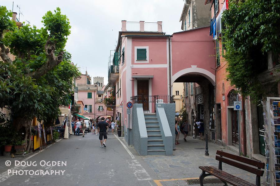 Main street, Montorosso, Italy